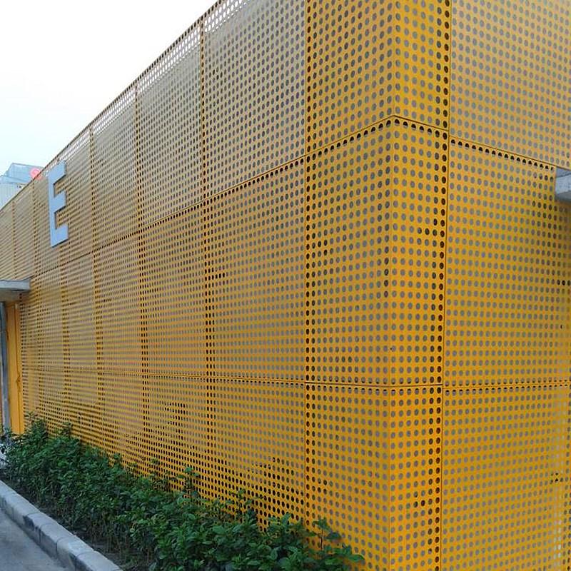 穿孔幕墙铝板