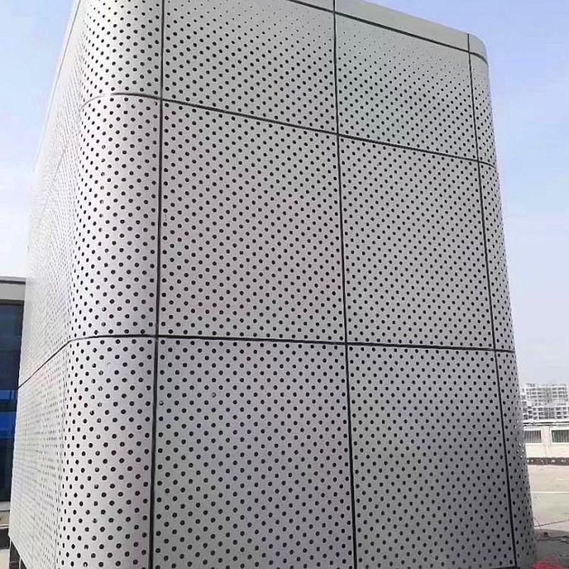 穿孔铝板幕墙
